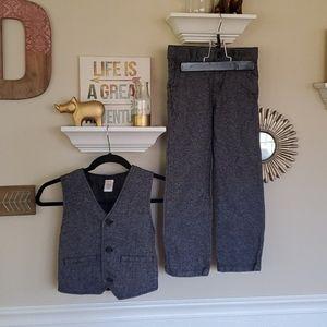 Gymboree pants (size 6) and vest (size 7-8) set